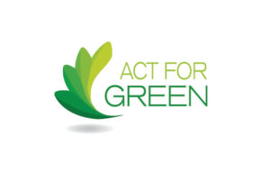 ACT FOR GREEN Label